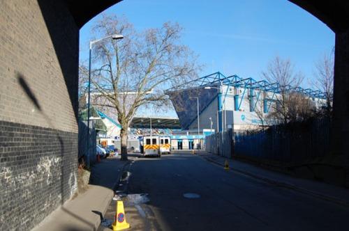 Paskutinis kelias link stadiono.