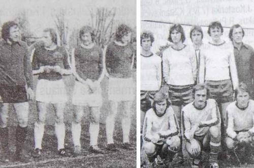 Kairėj - 1978, dešinėj - 1981.