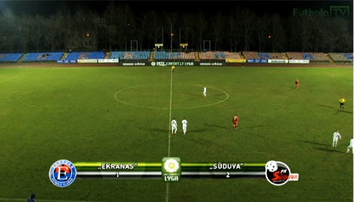 FK Ekranas - FK Sūduva